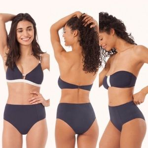 Lively Swim - Lively The High Waist Swimsuit Bottoms - Navy